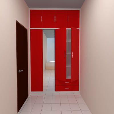 Red Big Wardrobe | SARAÈ