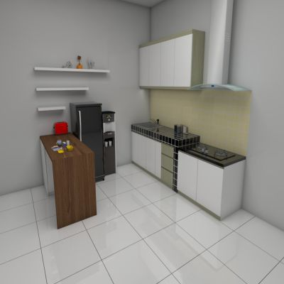 Minimalist Kitchen   SARAÈ