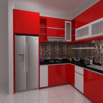 Pop Red Kitchen Set   SARAÈ
