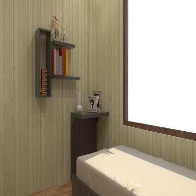 Brown Floating Shelves | Sarae