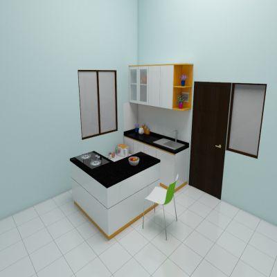 Small White Kitchen | SARAÈ