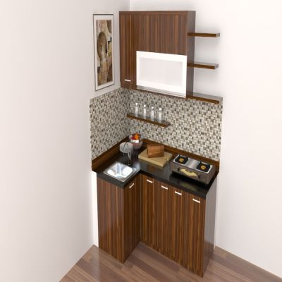 Small Brown Kitchen Set | SARAÈ