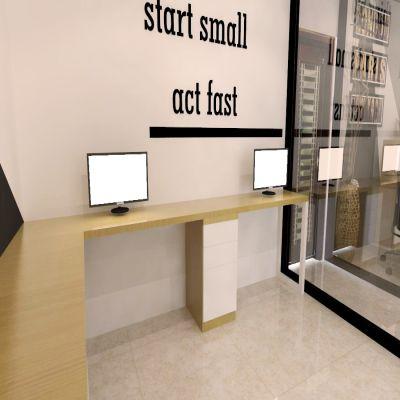 Minimalist Office | SARAÈ
