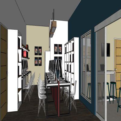 Interior for Convinient Office | SARAÈ