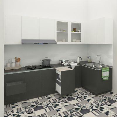 10 Model Kitchenset Leter L | SARAÈ