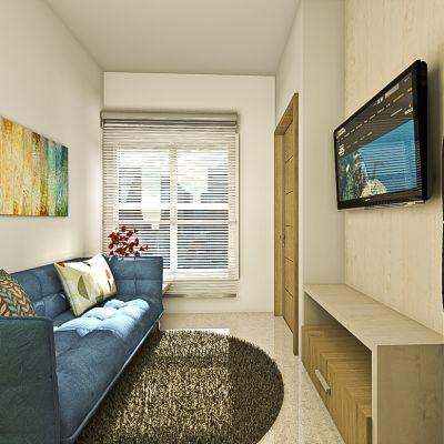 Interior Apartemen 1BR | SARAÈ