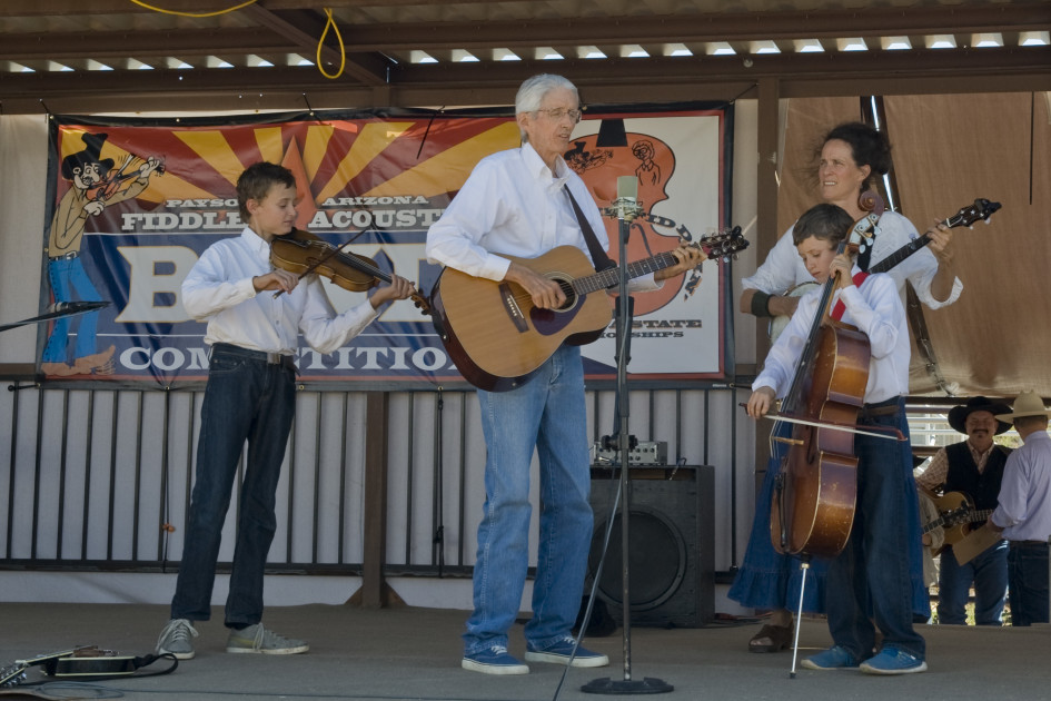 46th Annual Vertielee Floyd Memorial Old Time Fiddlers Contest Arizona State Championship