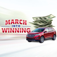 March Into Winning Giveaway