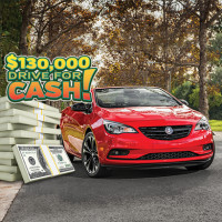 $130,000 Drive For Cash