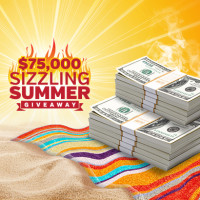 $75,000 Sizzling Summer Giveaway