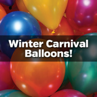 Winter Carnival Balloons
