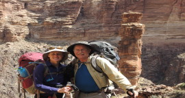 Self Guided Grand Canyon Backpacking: Hermit to Bright Angel Trail