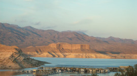 Temple Bar Marina on Lake Mead