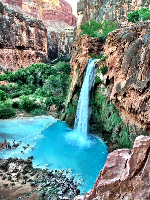 press room havasupai falls