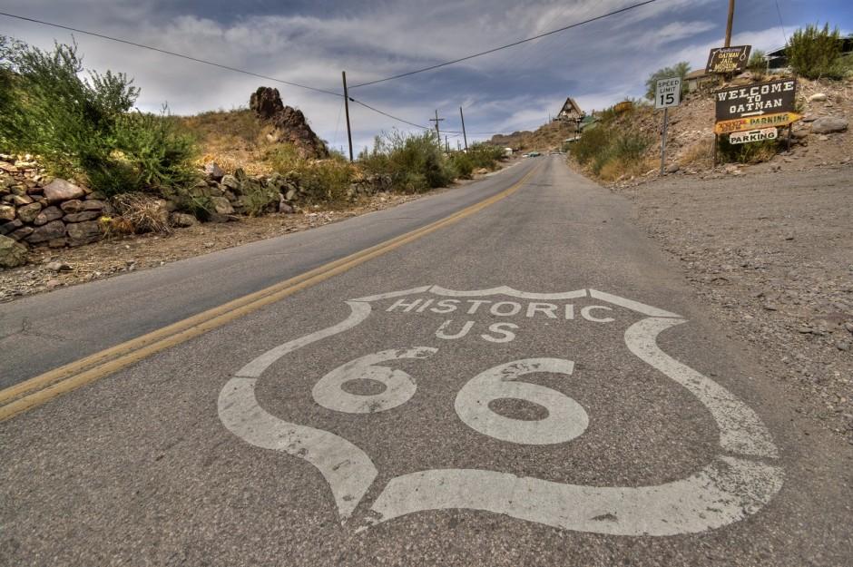 Route 66 - Photo by Vicente Villamon