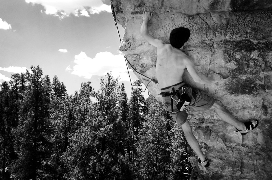 Climbing in Coconino National Forest - Photo by Paul Savala