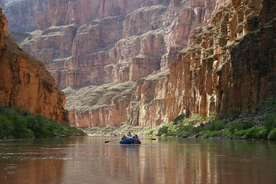 The Colorado River - Photo by Grand Canyon National Park)