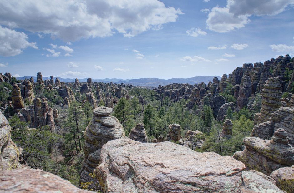 Chiricahua National Monument - Photo by Denny Armstrong