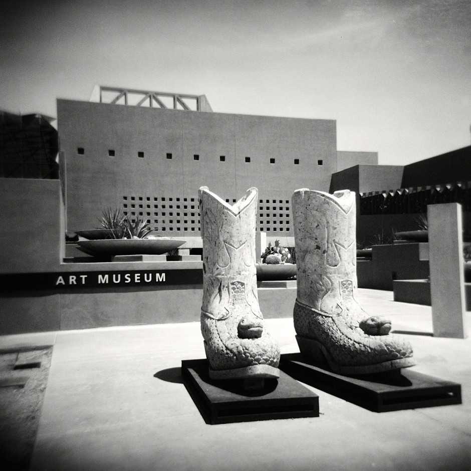 The ASU Art Museum - Photo by Kevin Dooley