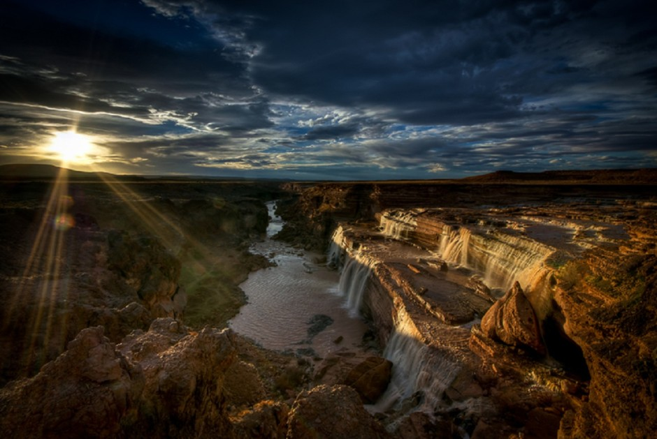 Grand Falls - Photo by Charlie Stinchcomb