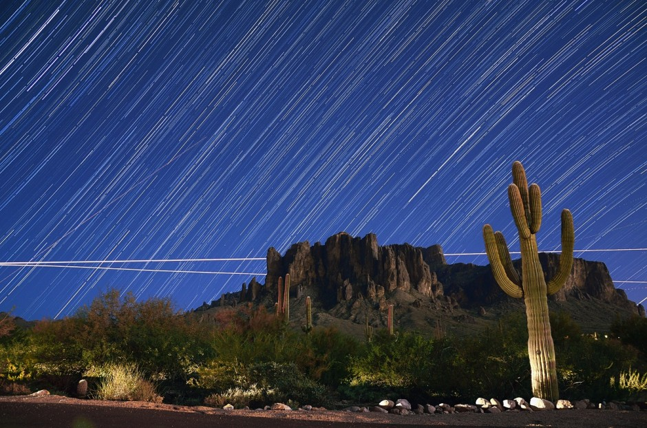 The Superstition Mountains - Photo by Ryan Cadby