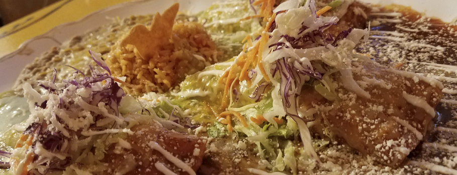 Delicious enchiladas get served up fresh at Mi Casa in Benson