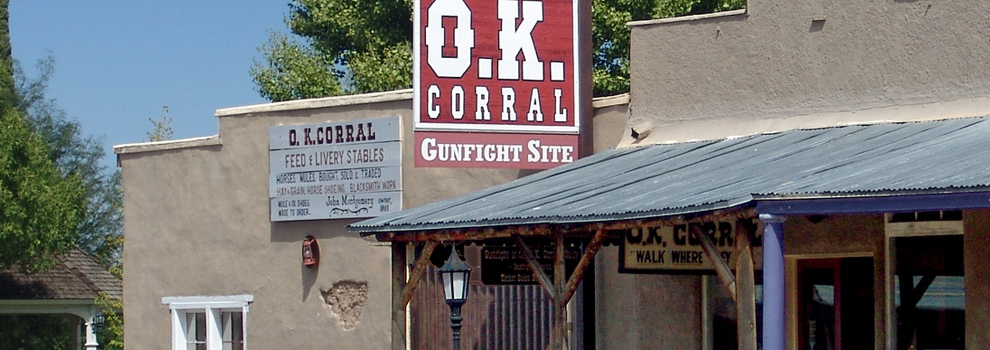O.K. Corral in Tombstone