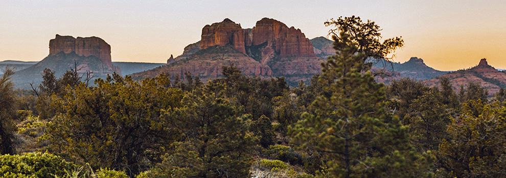 Hikers in Sedona have no shortage of spectacular views