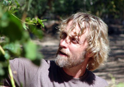 Eric Glomski in the vineyards of Page Springs Cellars