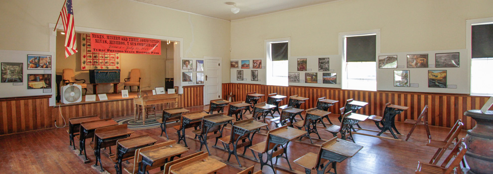 An inside look at one of the classrooms in Otero Hall in Tubac.