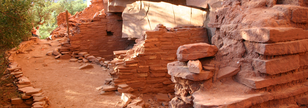 Ruins at the Honanki Heritage Site near Sedona, Arizona