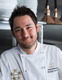 Chef Ryan Swanson of Kai restaurant in Chandler, Arizona