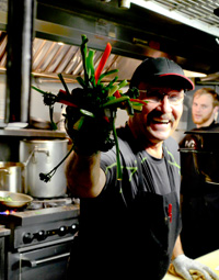 Chef Rod Kass of Cafe Roka in Bisbee, Arizona