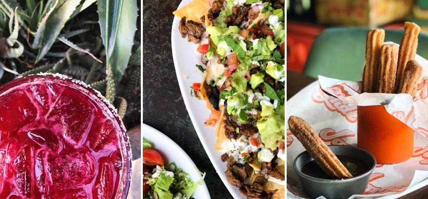 Joyride Taco's menu items