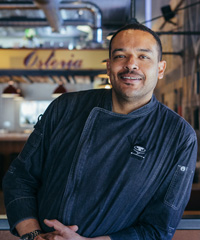 Chef Christopher Smith at Osteria in Cottonwood