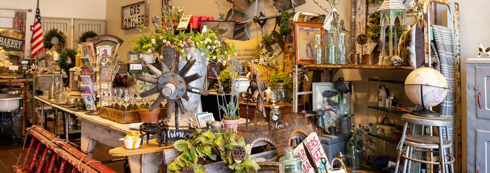 Vintage goods and treasures at Modern Day Forager Mercantile in Prescott, Arizona