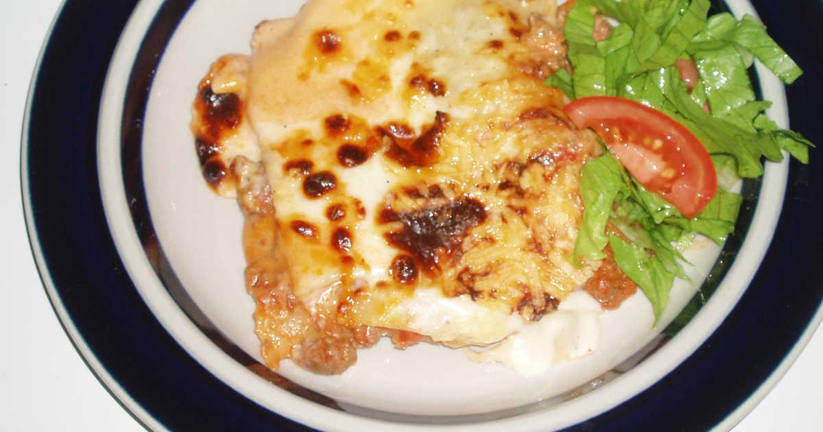 lasagne färska plattor recept