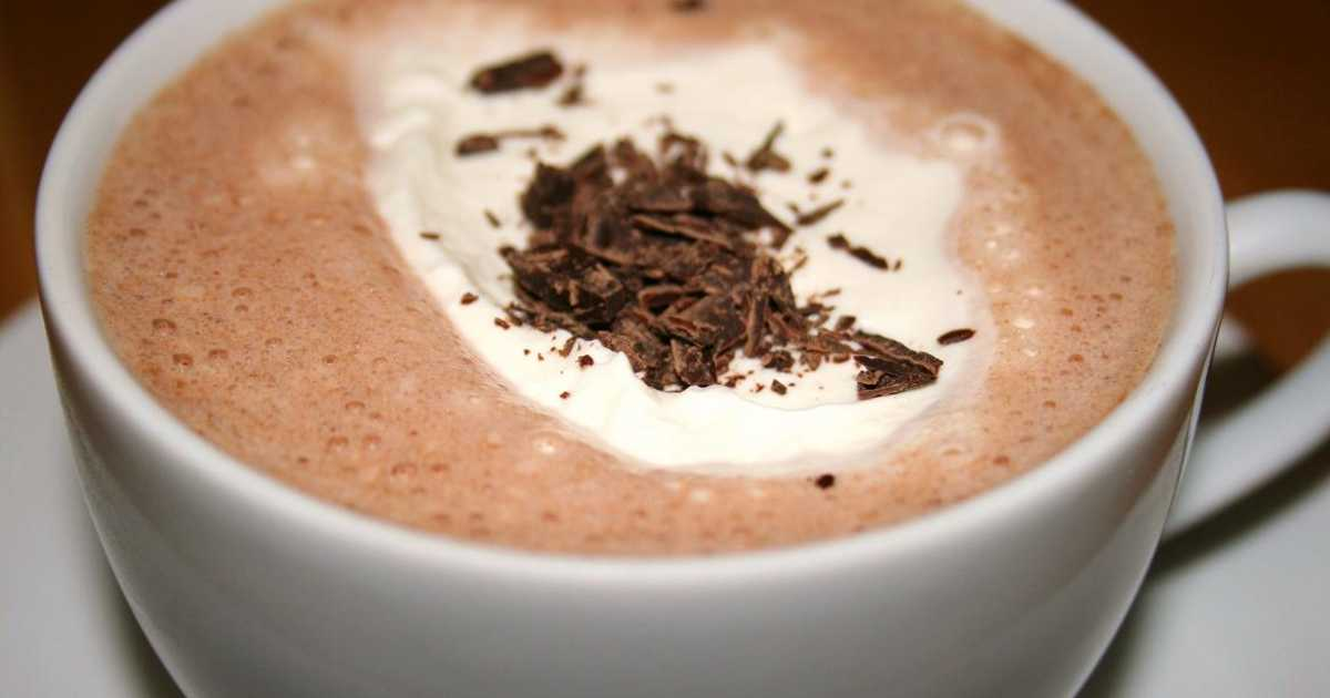 varm choklad recept