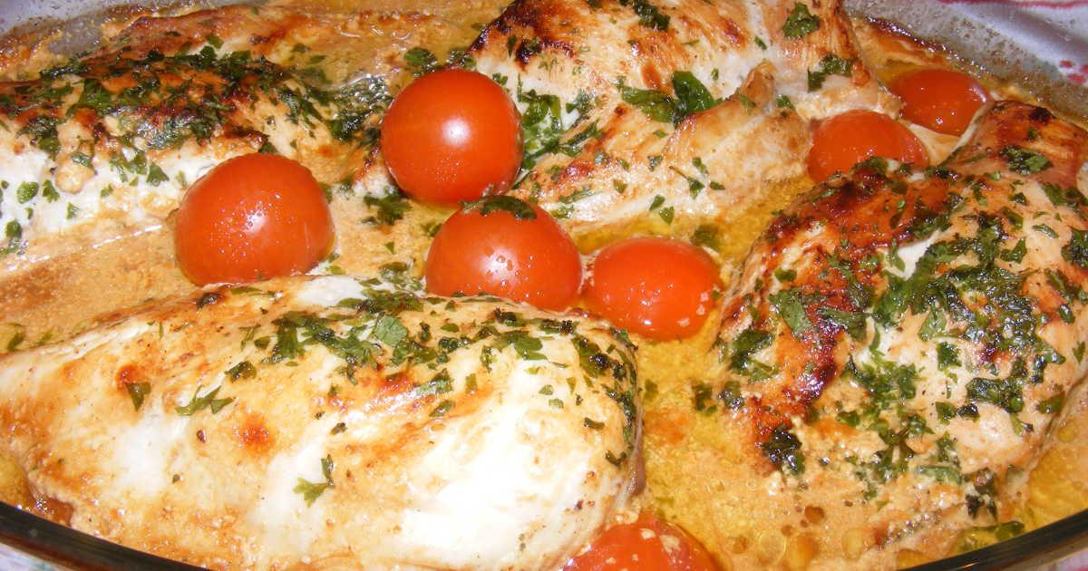 recept fylld kycklingfile