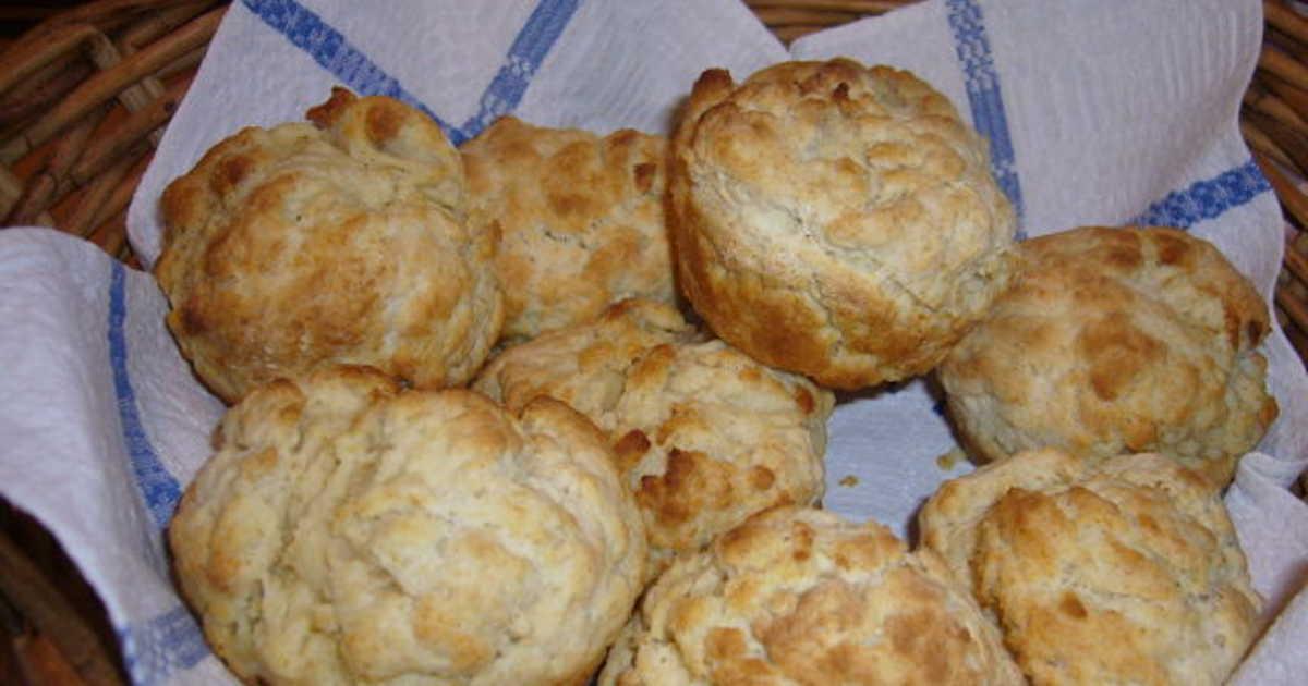 scones i muffinsform