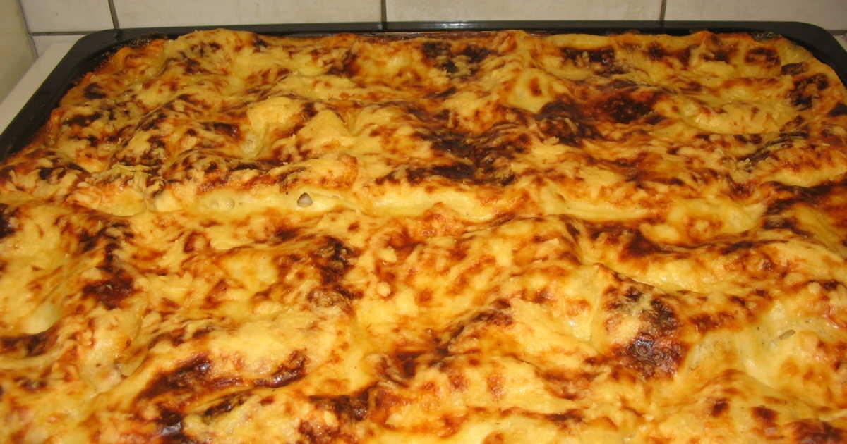 lasagne i långpanna recept