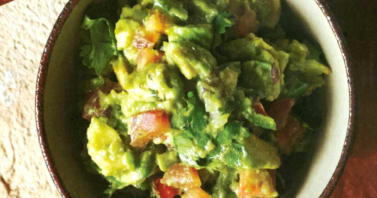 guacamole recept äkta