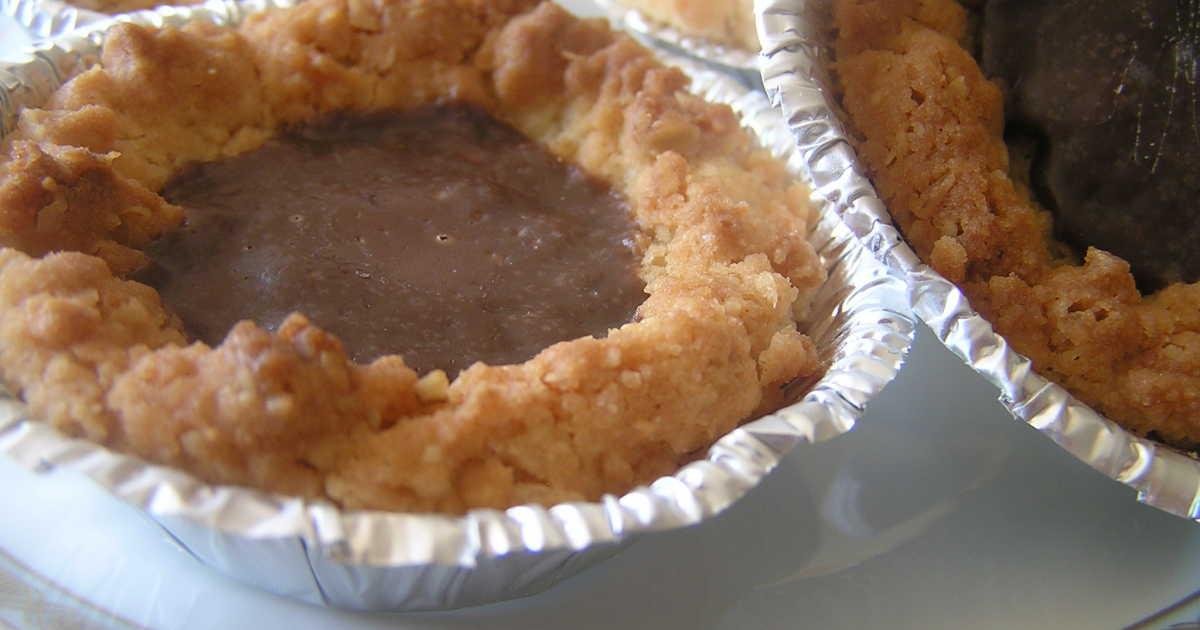 kakor med kolafyllning