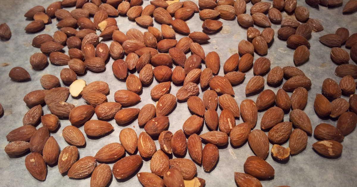 salta mandlar recept