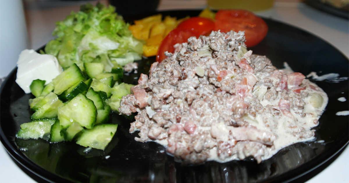 lchf middag köttfärs