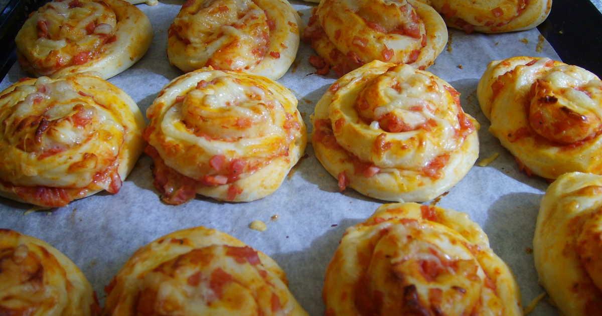 pizzabullar utan jäst recept