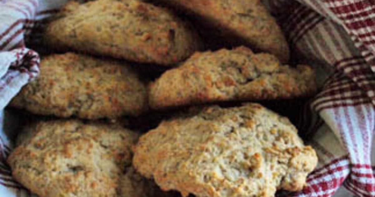 scones på rågmjöl