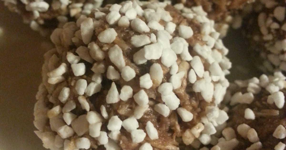 chokladbollar med havregryn