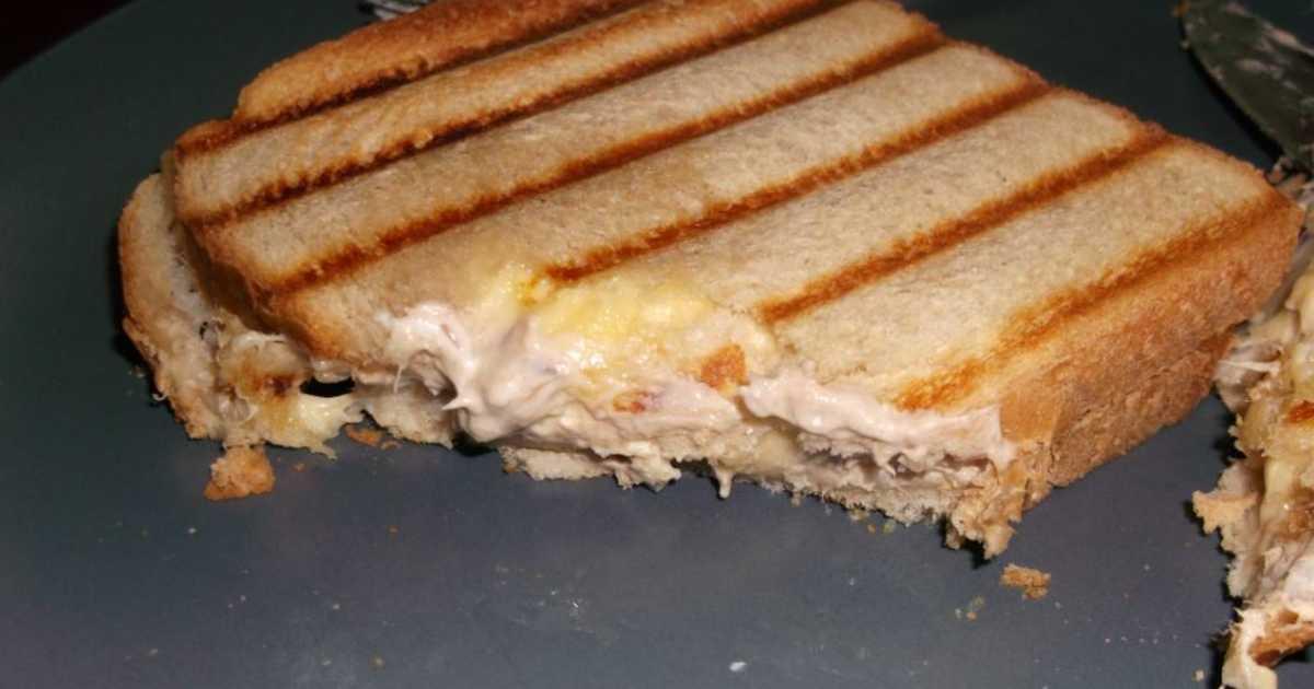 varm macka i smörgåsgrill recept