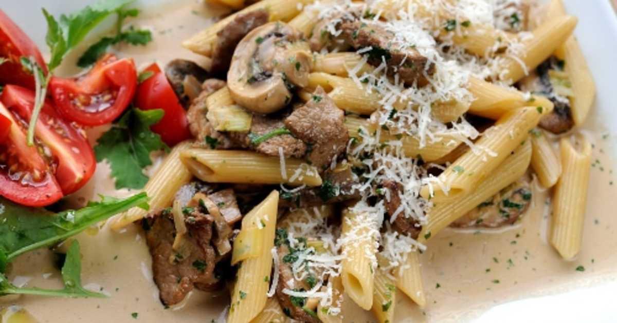 oxfile pasta recept